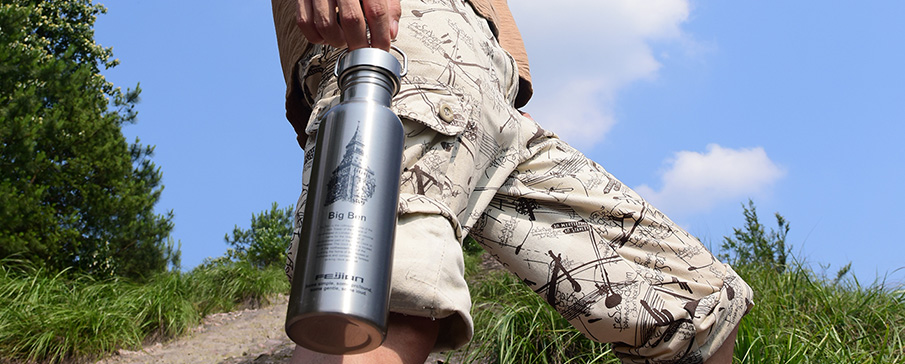 Outdoor sports bottle